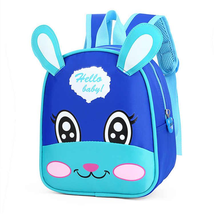 Baby Boys Girls Cute Toddler Kids Cartoon Animal Bag Backpack Rucksack Schoolbag