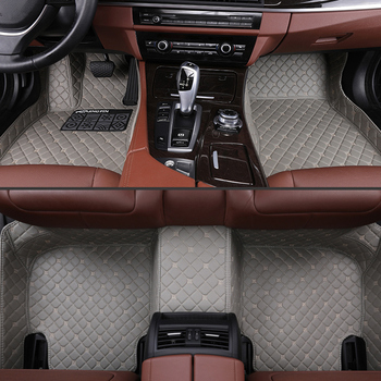 Car Floor Mats For Chrysler 300c 2012 2013 2014 2015 2016 Leather Mats Protection Accessorie Auto Carpet Cover