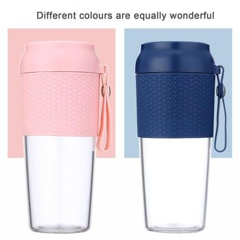 Portable Juice Cup Vitamin Orange Juice Cup Mini Electric Mixing Cup Portable Juicer Cup Charging Cup jiqi household mini electric portable juicer glass juice cup 222w big power pink blue green