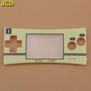 Image 3 - JCD 1 pièces couvercle de la façade avant coque de remplacement pour GameBoy Micro pour GBM boîtier avant pièce de réparation du boîtier
