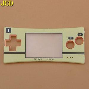 Image 3 - Jcd capa de substituição para gameboy, 1 peça, frontal, placa frontal, carcaça para reparo, micro gbm
