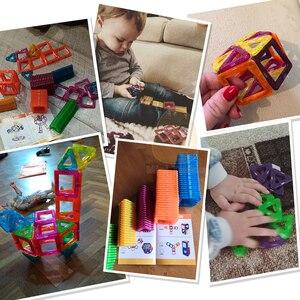 Image 3 - 52 106PCS Mini Magnetic Blocks Educational Construction Set Models & Building Toy ABS Magnet Designer Kids Magnets Game Gift