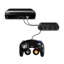 цена на 4 Port USB GameCube Controller Adapter Converter For Nintendo For Super PC USB PC to four GameCube controllers