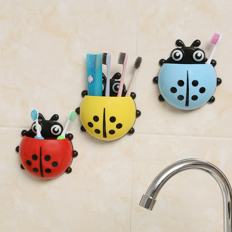 1 Pcs Bathroom Storage Toothbrush Holder Toothpaste Holder Bath Toy Sets Tooth Brush Container Bathroom Toys For Children Kids