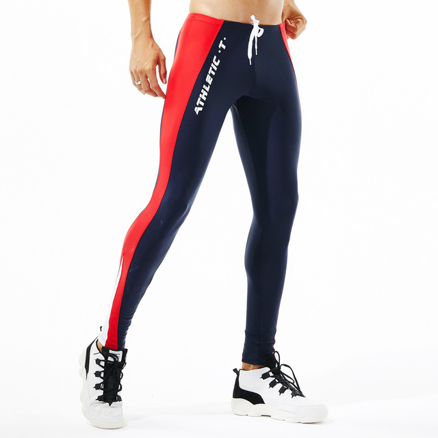 Tights Man's Stretch Workout Fitness Long Leggings Compress Fitness Long Johns Quick Drying Sexy Casual lounge Home and Out Door 4