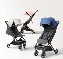 XIAOMI Baby Stroller Multifunctional Folding Portable Lightweight Shock Bbsorber Trolley 3 in 1 Four Wheel Stroller Baby Travel