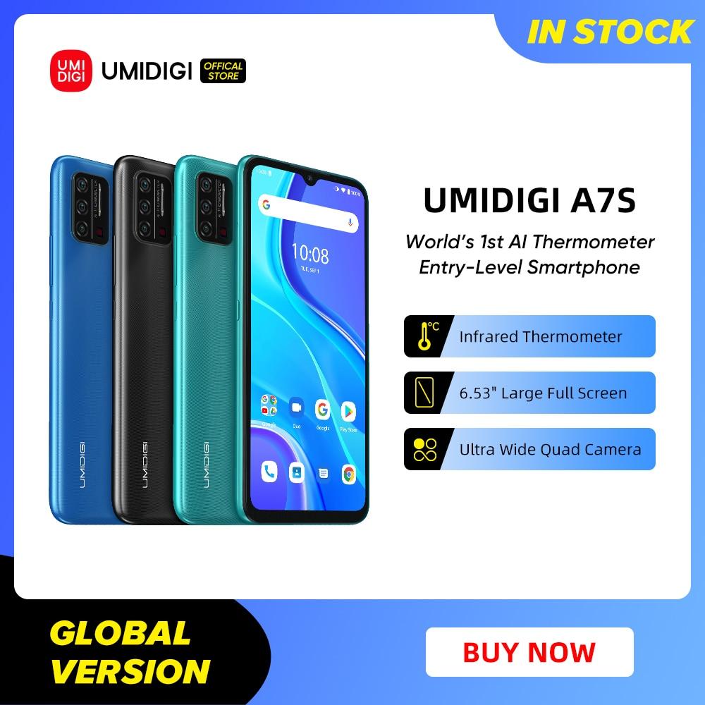 In-Stock UMIDIGI A7S Smart Phone 6.53  1