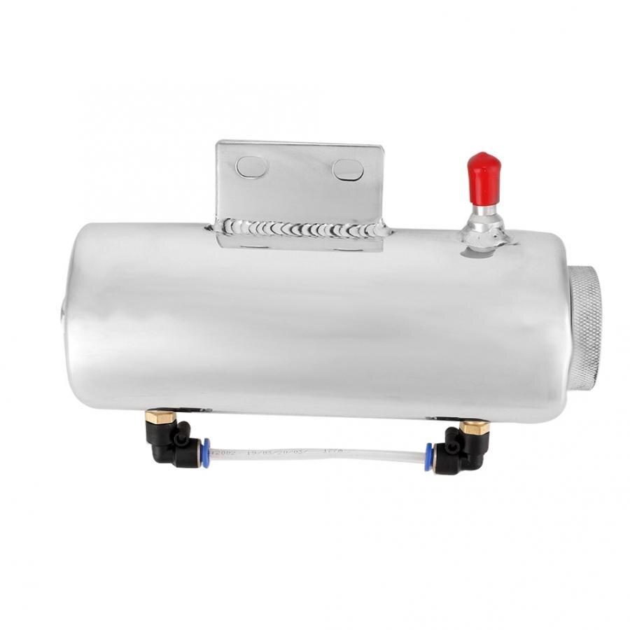 Réservoir de liquide de refroidissement de débordement d'alliage d'aluminium de 500ML refroidissant pour le réservoir de liquide de refroidissement en Aluminium de prise d'eau de radiateur