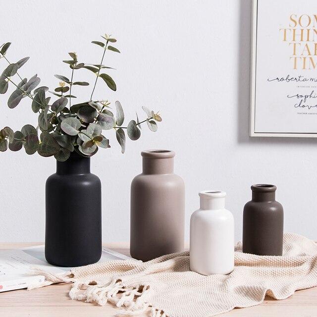 Vases en céramique moderne de style nordique Vases 🎁 Idées Cadeaux Cocooning.net