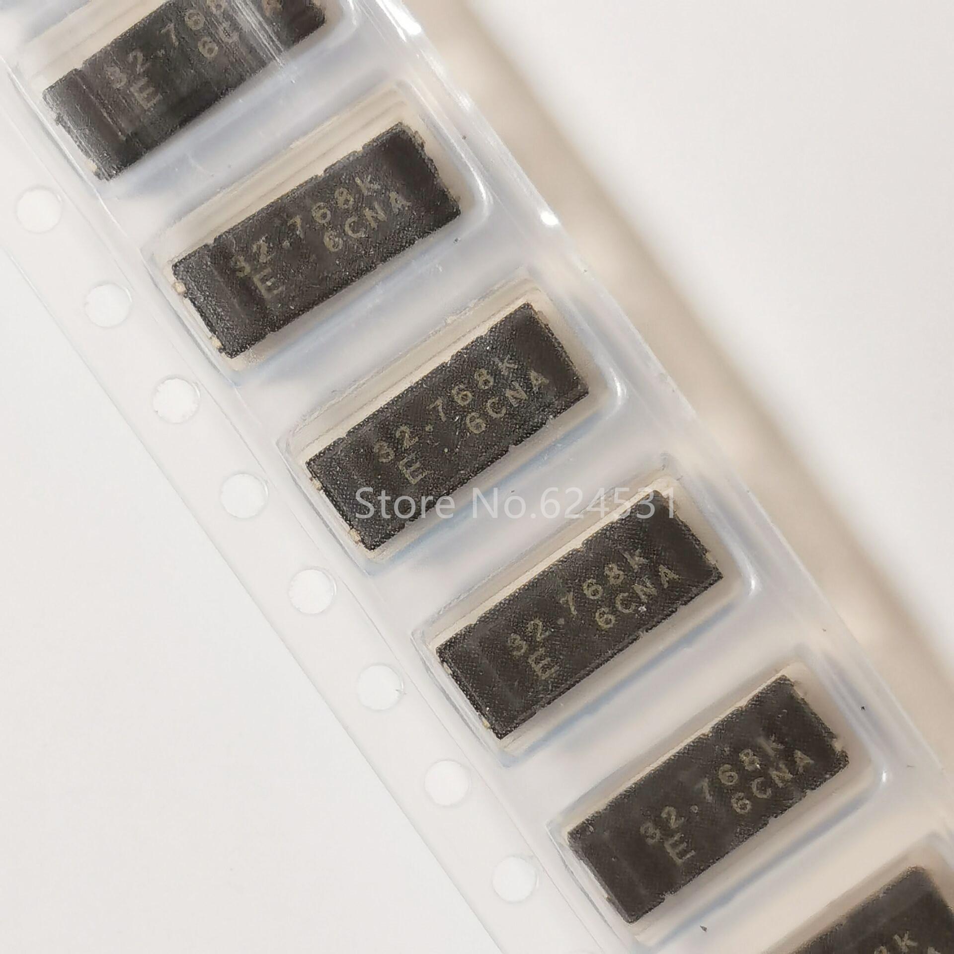 10pcs MC-406 SMD Passive Crystal Oscillator 32.768KHZ 32.768K Original Industrial Grade 32768 4P Resonator