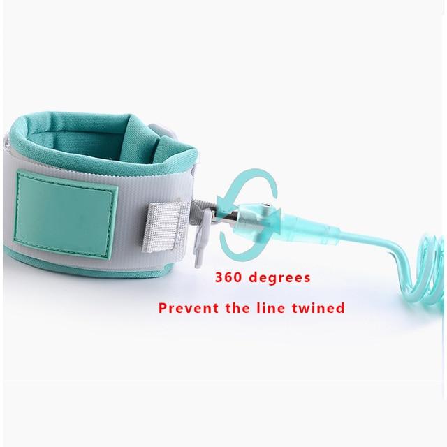 1.5M 2M 2.5M Toddler Kids Baby Safety Walking Harness Anti-lost Strap Wrist Leash Children Hand Belt Rope 5