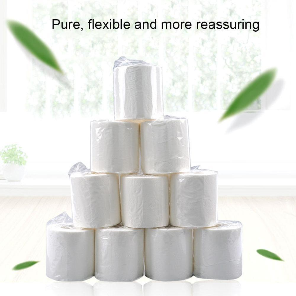 1pcs 100g Toilet Paper Ultra Strong Tissue Bathroom White Soft 3-Ply Clean Hygienic Roll Paper Pumping Paper Household Paper