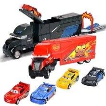 ديزني بيكسار سيارات 3 البرق ماكوين جاكسون العاصفة كروز ماطر ماك العم شاحنة 1:55 دييكاست سيارة معدنية نموذج الصبي طقم هدايا لعبة