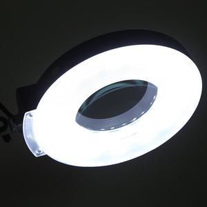 Image 5 - Professionelle Beleuchtung Schönheit Kosmetische Tattoo Maniküre 5x Vergrößerungs Beleuchteten Schreibtisch Lupe Licht Lampe Mit Clamp beleuchtung
