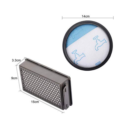 1X Filter Kit Per Hepa Rowenta Rowent Staubsauger Compact Power Ro3715 Ro37 Y7F2