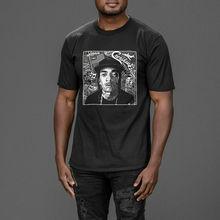 все цены на Nipsey Hussle The Greatest hip hop Crenshaw and slauson T-shirt Tee Print Tee Men Short Sleeve Clothing TOP TEE онлайн