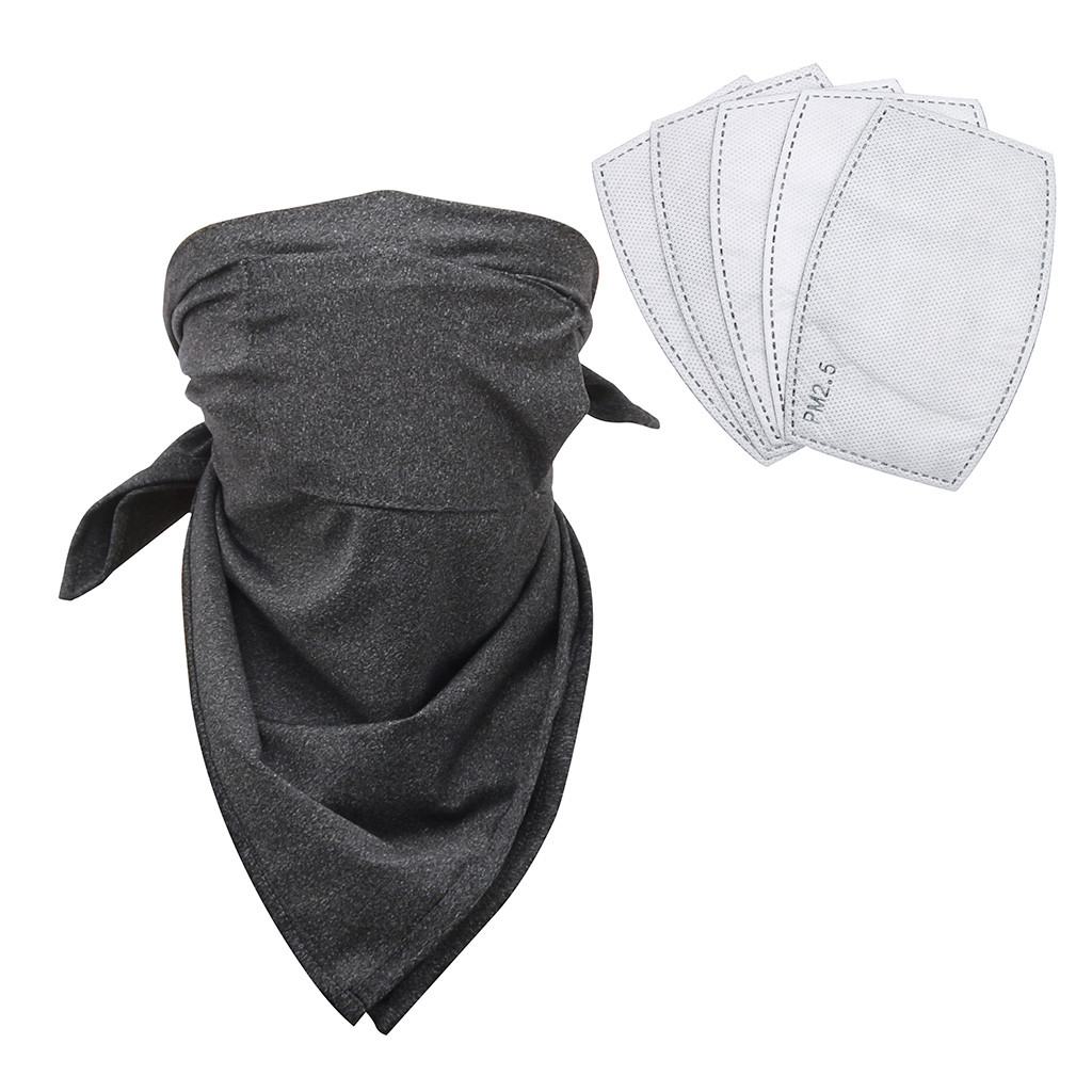H70ed182268644b33be83902530d038e4H Multifunctional Head Scarf Maske Facemask Face Mouth Neck Cover With Safety Filter Mascarillas Washable Bandanas Reusable Scarf