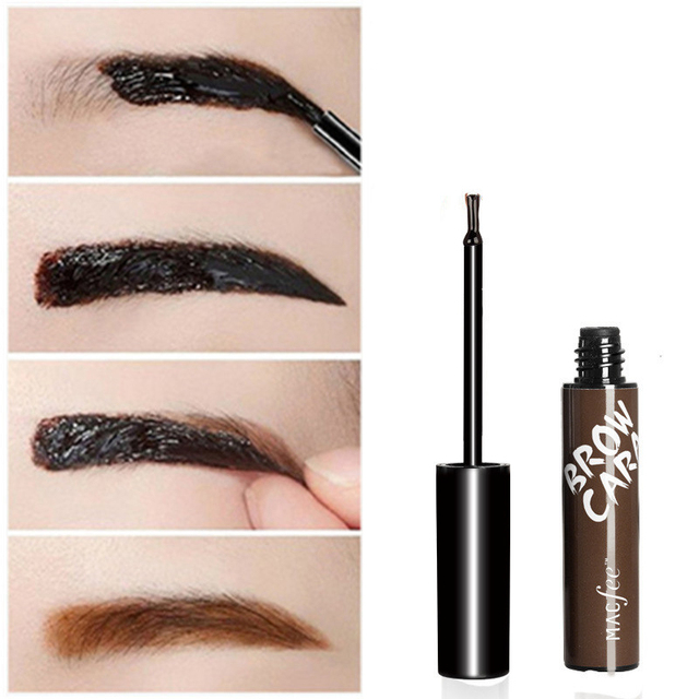 Lazy Makeup Eyebrow Enhancers Liquid Gel Long Lasting Waterproof Easy to Wear Tear Peel-off Brow Tattoo Tint Eyes Brows Natural 3