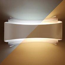 Modern Minimalism Led Wall Lights Hotel Living Room Aisle Bedside Lamps Unique Design Long Lifespan Lighting Fixtures