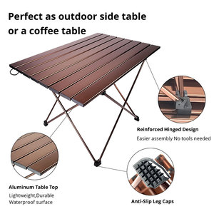 Image 3 - Outdoor Table Dest Folding Picnic Table