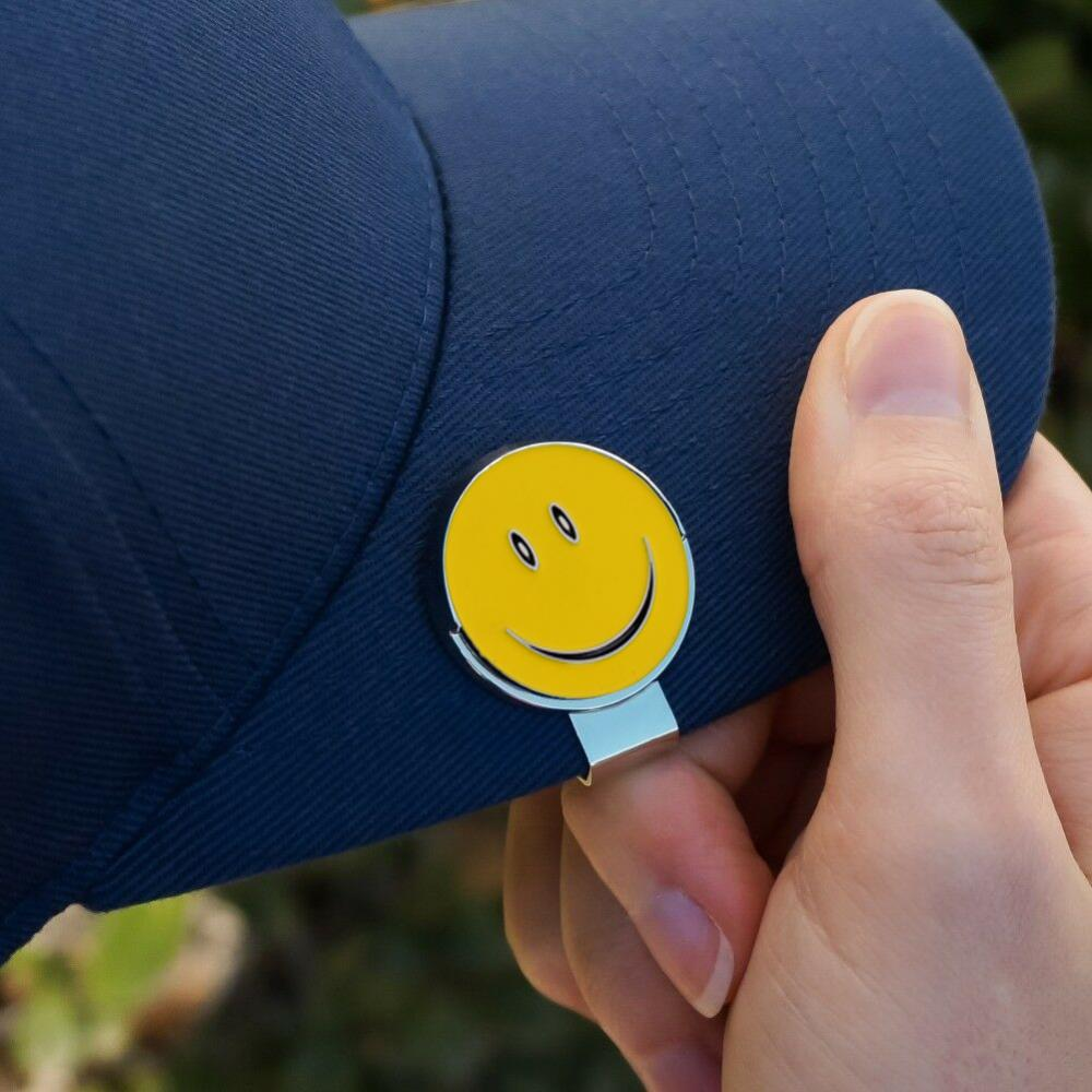 Golf Cap Clip With Magnetic Golf Ball Marker, Attaches Easily To Hats - Great For Golfing Sports - Tight And Sturdy