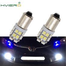 2XสีขาวไฟT11 Ba9s T4w 8Led 1210แผ่นอัตโนมัติหลอดไฟFestoonโดมหลอดไฟTrunk Light Marker Gaugeโคมไฟdc 12V CobหลอดไฟLed