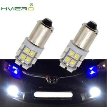 2X beyaz ışıklar T11 Ba9s T4w 8Led 1210 otomatik plaka ampul Festoon Dome kapı ampul bagaj lambası işaretleyici göstergesi lambaları Dc 12v Cob Led ampul