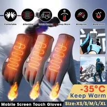 Bike Gloves Cycling Waterproof Touchscreen MTB Snowboard Ciclismo Winter Warm Guantes