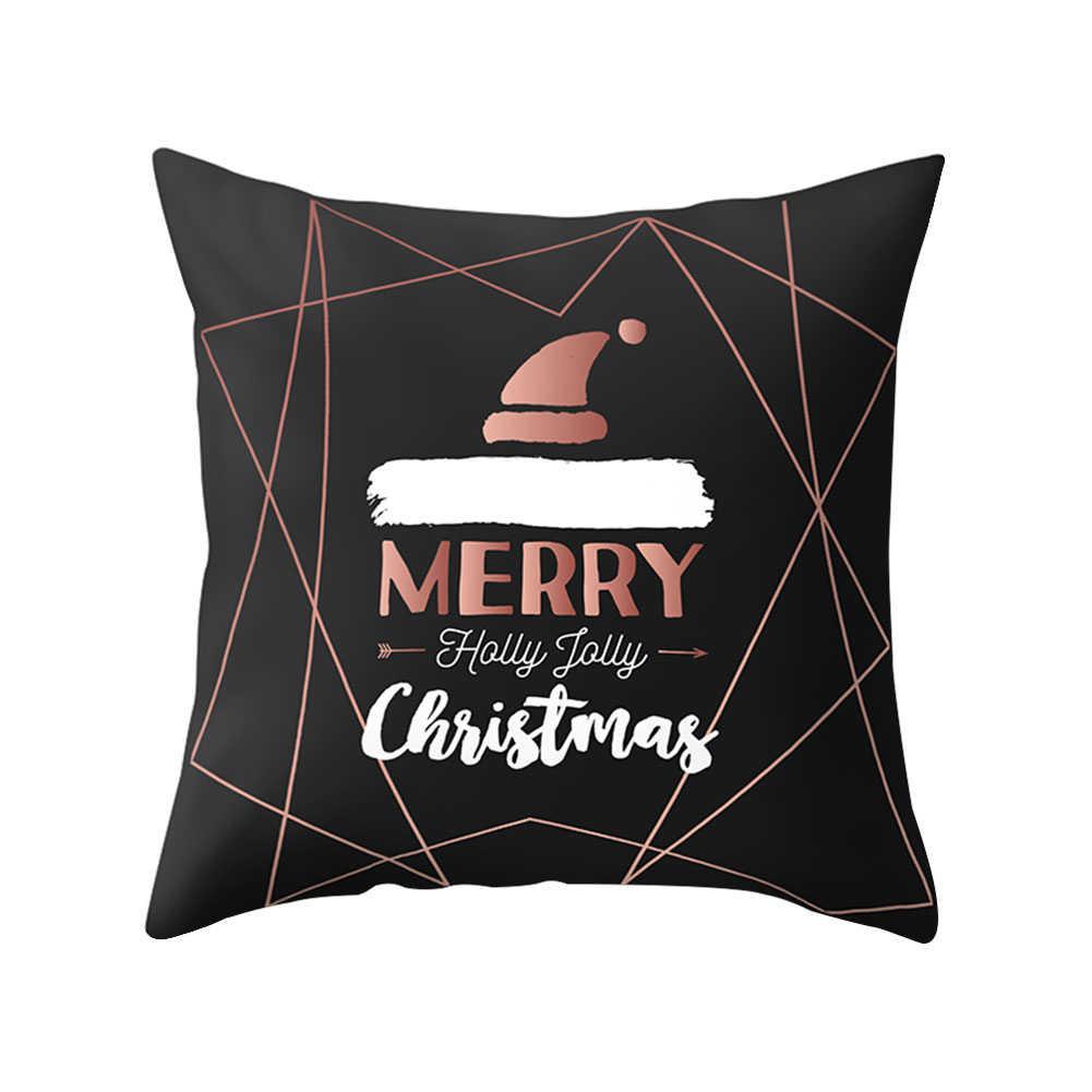 مرح إِلْكَة عيد الميلاد ندفة الثلج قبعة كيس وسادة غطاء السرير لوازم المنزل
