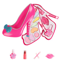 Children Simulation Cosmetic Beauty Makeup Tools Kit Girls Make Up Set Toys Safe Non Toxic ABS Environmentally Plastic For