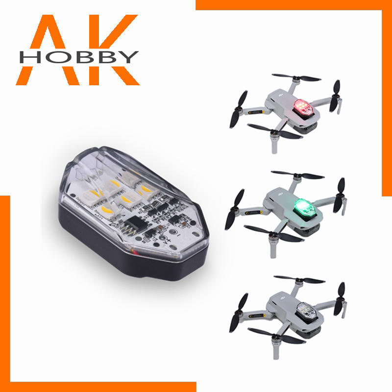 Ulanzi DR-01 Drone Navigation Light Strobe Light Red Green White Source Night for DJI Mavic Mini Mavic Air 2 Drone Accessories