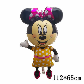 Giant Mickey Minnie Mouse Balloons Disney cartoon Foil Balloon Baby Shower Birthday Party Decorations Kids Classic Toys Gifts 41