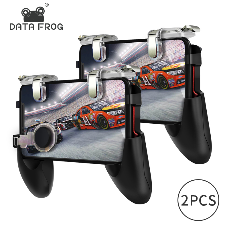 DATA FROG Game Controller for Pubg Mobile Controller Trigger Shooting Fire Button Phone