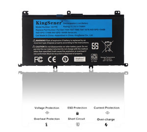 Image 2 - KingSener batterie 11.1V, 74wh 357F9 pour Dell Inspiron 15  7000, 7559, 7557, 7566, 7567, 5576, INS15PD 1548B