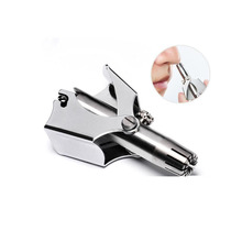 QSHAVE Stainless Steel Ear Nose Trimmer Razor Safety Care Be