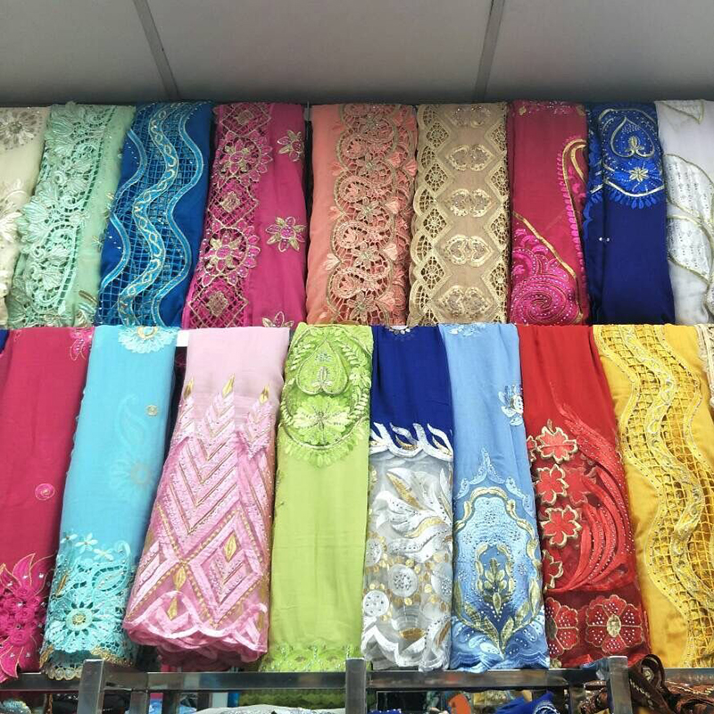 5  PIECES WHOLESALE PRICE ORDER , African Women Scarfs Mix Design 100% Cotton Scarf On Sales