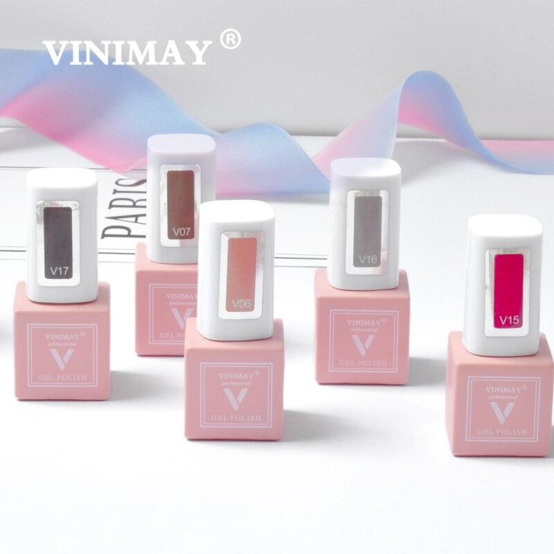 Image 4 - VINIMAY 60 Цветной Гель лак для ногтей vernis полуперманентный УФ гель для ногтей лак грунтовка отмачиваемый Гель лак для ногтей Полировочный Гель для маникюраГель для ногтей    АлиЭкспресс