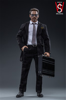 In Stock Collectible 1/6 Scale FS021 Tony Stark Head Sculpt Clothes No Body Male Action Figure Model for Fans Holiday Gifts