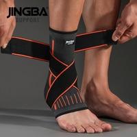 Orange Bandage Ankle