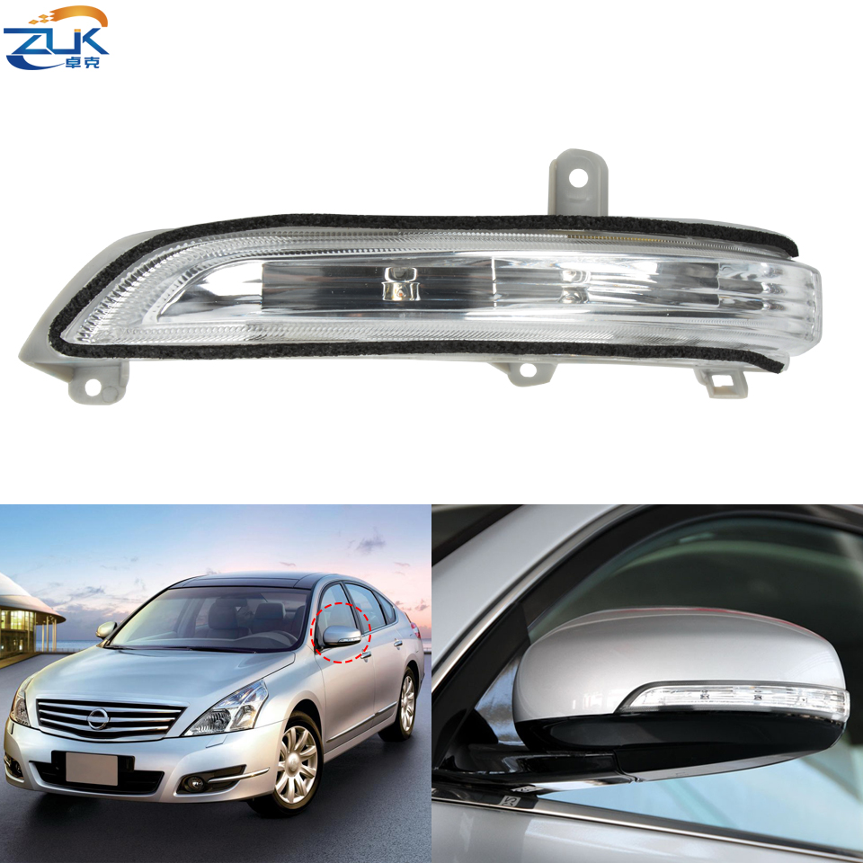 Rearview Mirror LED Turn Signal Light For NISSAN TEANA J32 2008 2009 2010 2011 2012 Rear View Wing Mirror Indicator Flasher Lamp image