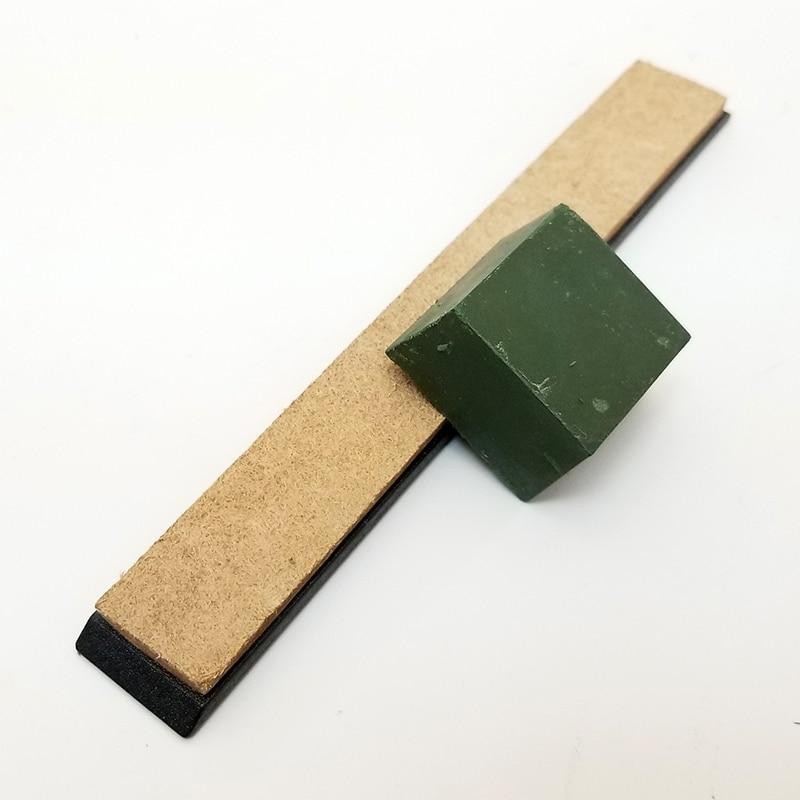 Ev ve Bahçe'ten Bileyiciler'de Deri honlama stop bileşik taşlama bıçağı macun kalemtıraş bileme taş ince öğütme taşlama yağı taş sabit araçları title=