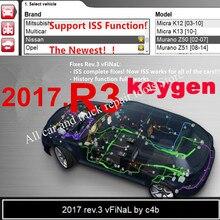 أحدث 2017.R3 دعم وظائف ISS مع keygen على دي في دي البرمجيات ل Delphis ds150e vdijk برو لشاحنة سيارة