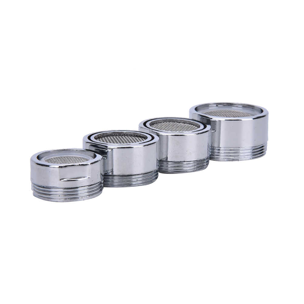 1Pc adapter do filtra wody 20/22/24/28mm Chrome kran plastikowy Tap Aerator dysza opryskiwacz filtr oszczędzania wody akcesoria kuchenne