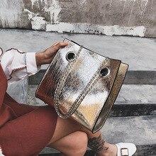 Big Tote Female Bag Burst Crack Chain Shoulder Messenger Bag PU Leather Rivet Large Capacity Mobile Ladies Bags for Women 2019 fashionable women s pu cover opening messenger bag tote bag w chain silver