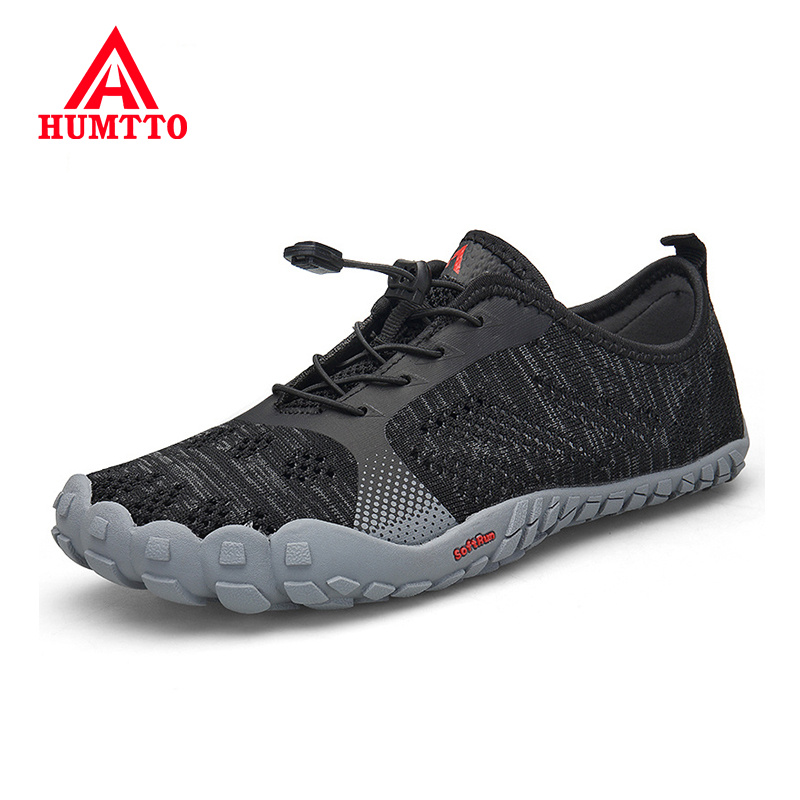 HUMTTO Summer Breathable Mesh Hiking Shoes Outdoor Male Sneakers Non-slip Wear-resistant Mens Sport Climbing Trekking Men Shoes(China)