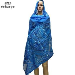 Image 5 - ใหม่แฟชั่นมุสลิมชีฟองยาวผ้าพันคอประเภทเรขาคณิตออกแบบผ้าพันคอทำจากผ้าฝ้ายและสบายผ้าพันคอ