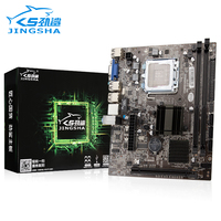 Jingsha placa-mãe intel g41 chipset mainboard sata2.0 porta soquete lga 775 ddr3 suporte xeon lga 771