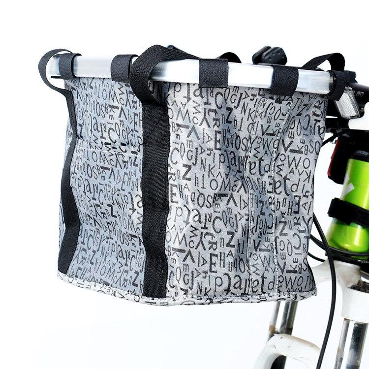 Top Grade Mountain Bike Aluminium Alloy Basket Quick Release Basket-Folding Basket Bicycle Equipment