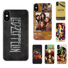 For Xiaomi Mi3 Mi4 Mi4C Mi4i Mi5 Mi 5S 5X 6 6X 8 SE Pro Lite A1 Max Mix 2 Note 3 4 Luxury Cool Phone Case Rock Band Led Zeppelin(China)