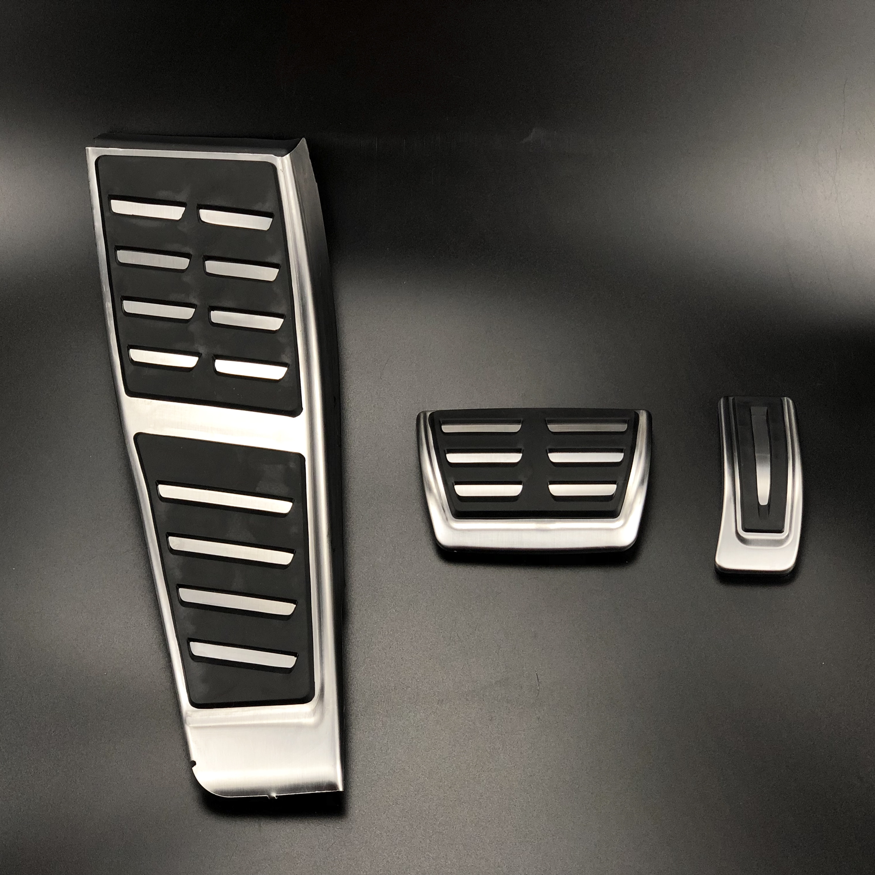 OEM Audi A4 S4 RS4 B8 Aluminium Sport Pedal and Dead Pedal only for LHD cars